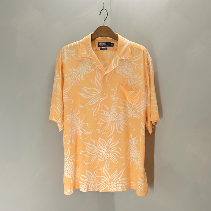 폴로 랄프로렌  Polo ralphlauren rayon hawaiian shirt