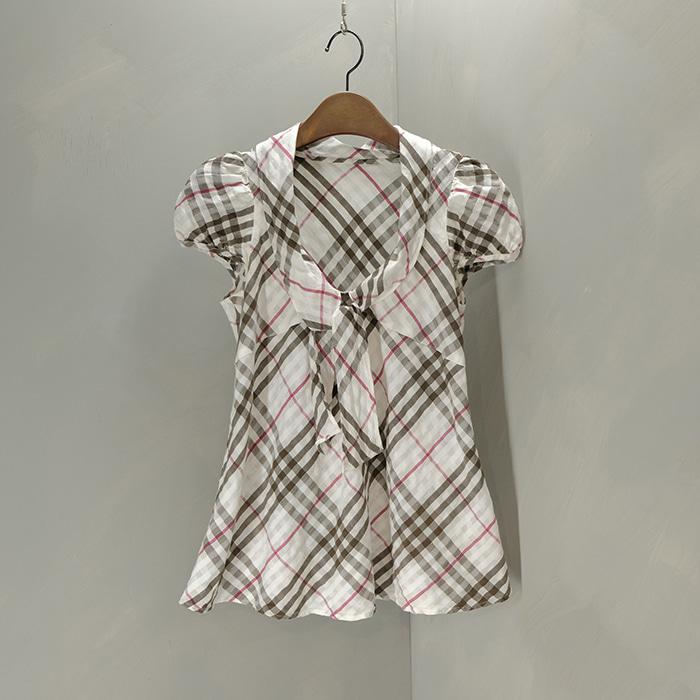 버버리 블루라벨 / Made in japan  Burberry bluelabel check blouse