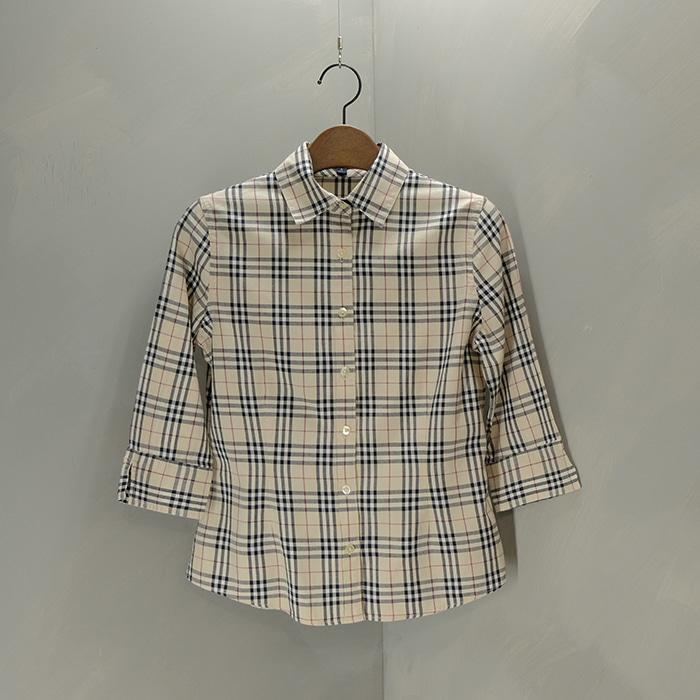 버버리 / Made in macau  Burberry novacheck shirt