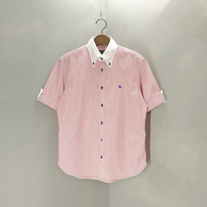 버버리 블랙라벨  Burberry blacklabel stripe shirt