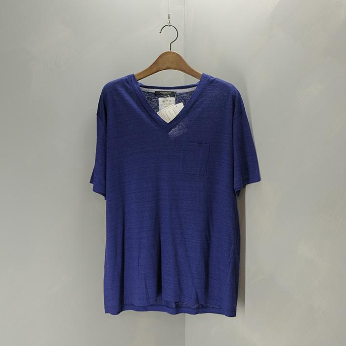 어반리서치 / Made in japan / 새제품  Urbanresearch pure linen v-neck T
