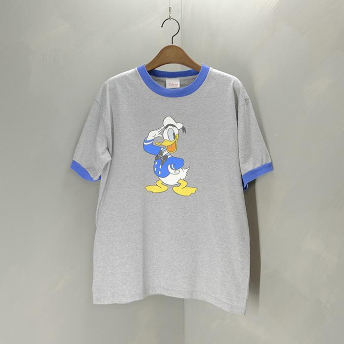 디즈니  Disney donald duck print T