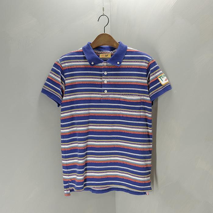 티엠티 / Made in japan  TMT pattern collar T