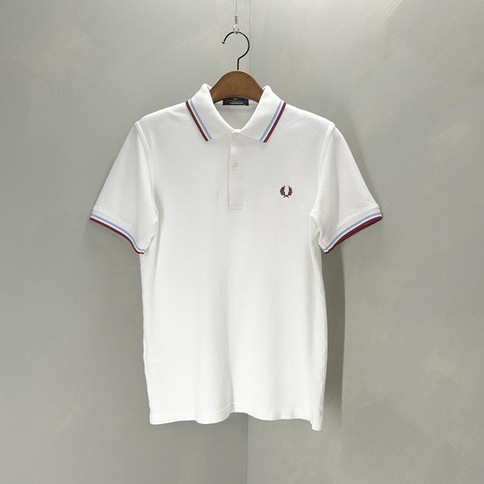 프레드 페리 / Made in UK  Fred perry pk collar T