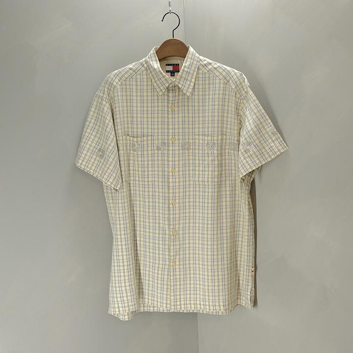 타미 힐피거 / Made in india  Tommy hilfiger reformed check shirt