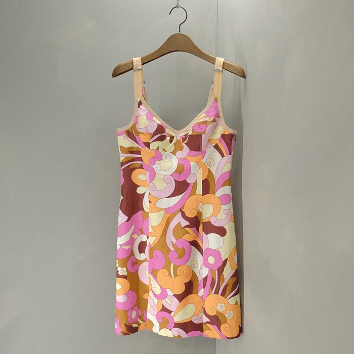 돌체앤가바나 / Made in italy  D&G linen mix sleeveless opc