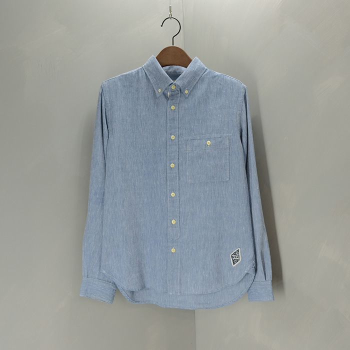 아비렉스  Avirex linen mix shirt