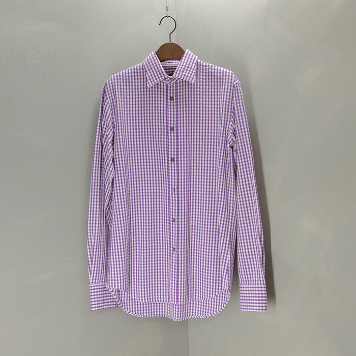 디스퀘어드 / Made in italy  Dsquared2 seersucker check shirt
