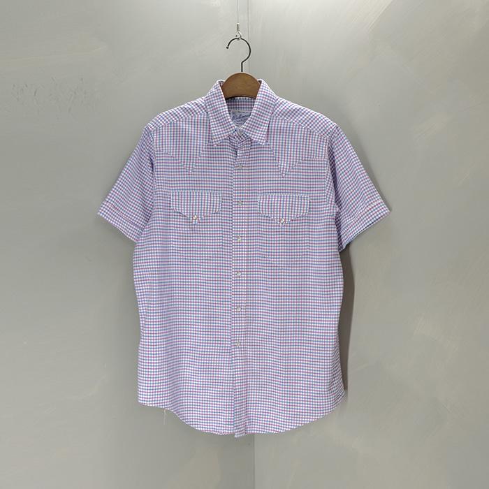 락마운트 / Made in usa  Rockmount ranchwear western check shirt