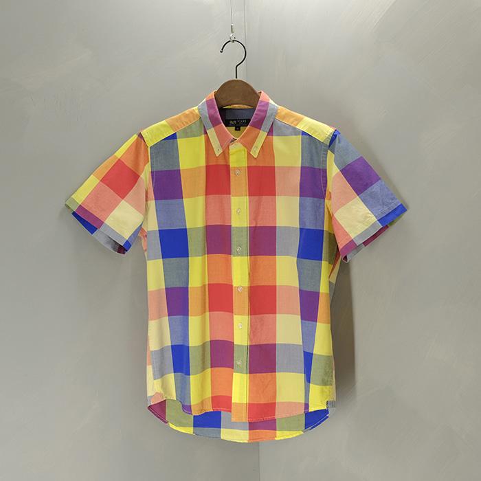 빔즈  Beams check shirt