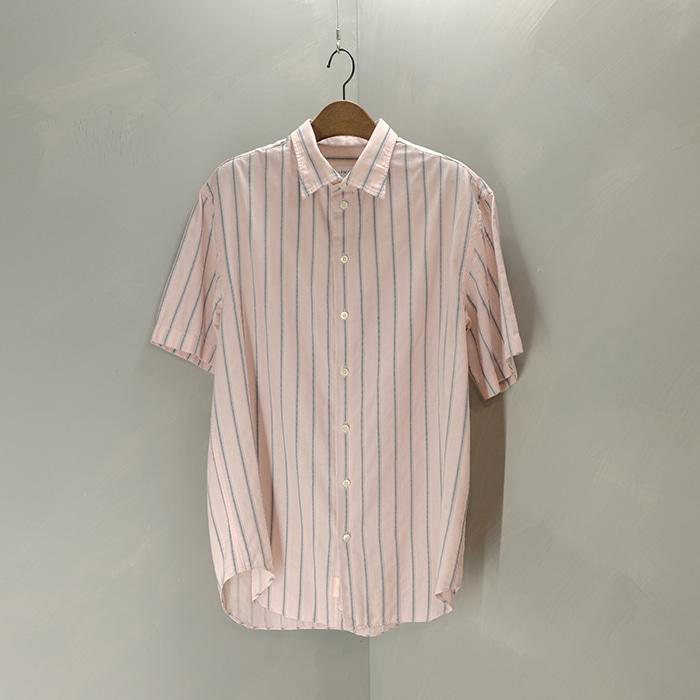 알마니 꼴레지오니 / Made in tunsia  Armani collezioni stripe shirt