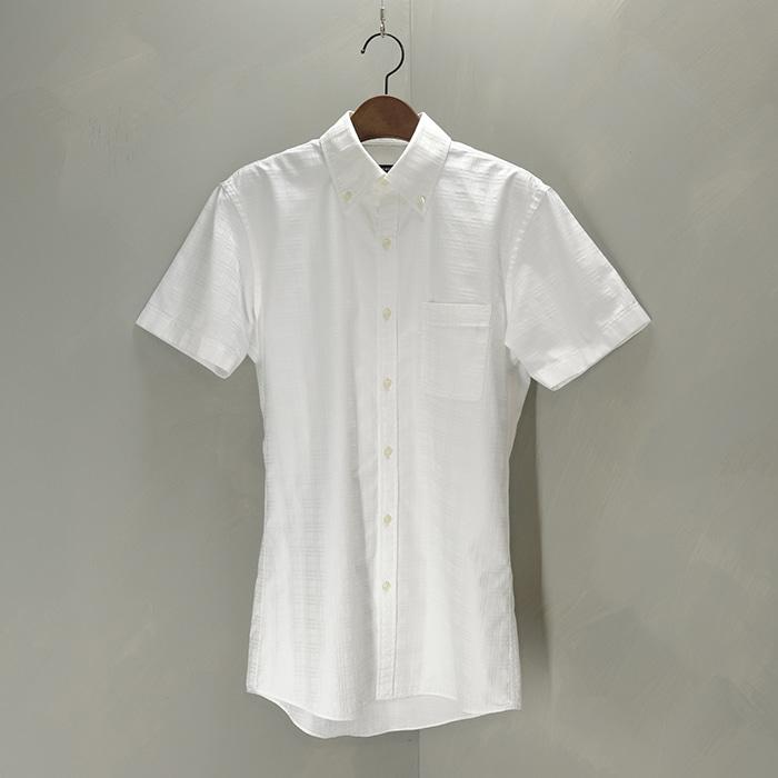 버버리 블랙라벨  Burberry blacklabel check pattern slimfit b/d collar shirt