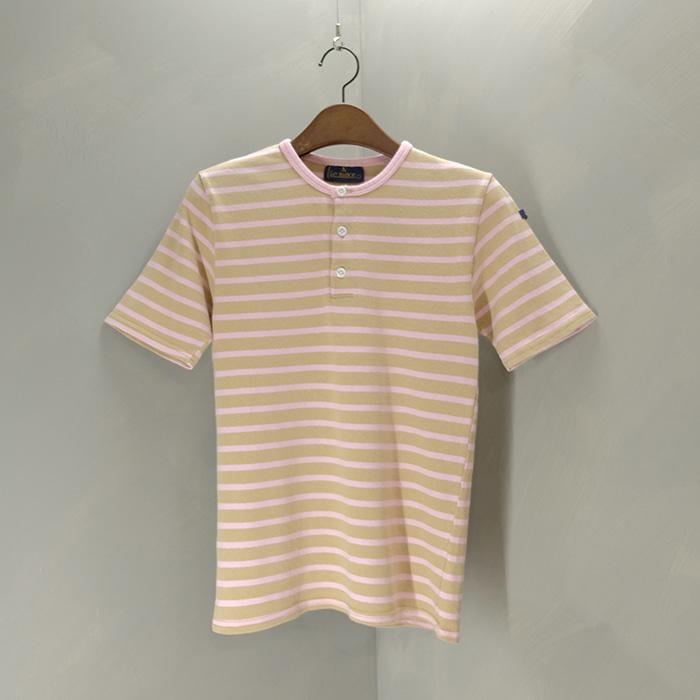 르 미노어 / Made in france  Le minor button pullover T