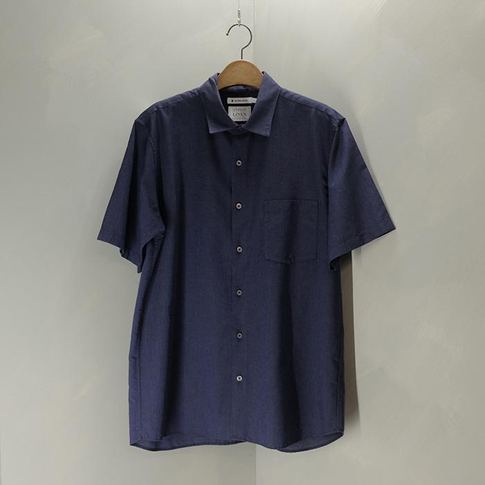 글로벌워크  Global work hybrid linen shirt