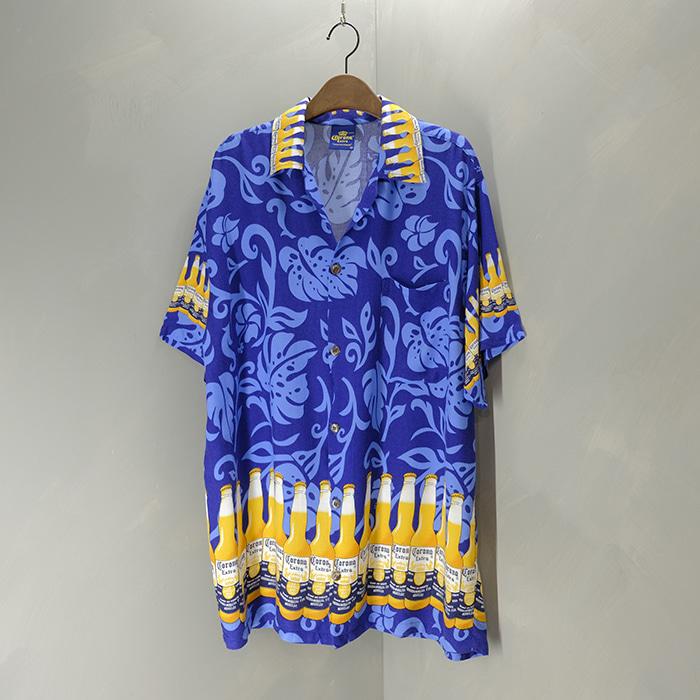 코로나  Corona beer rayon shirt