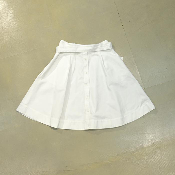 랄프로렌  Ralph lauren strap white skirt
