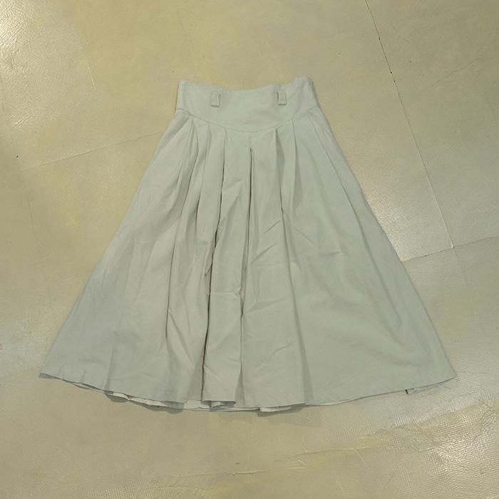 크리스챤디올  Christian dior linen mix skirt