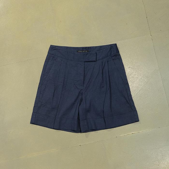 띠어리 / 새제품  Theory linen mix shorts