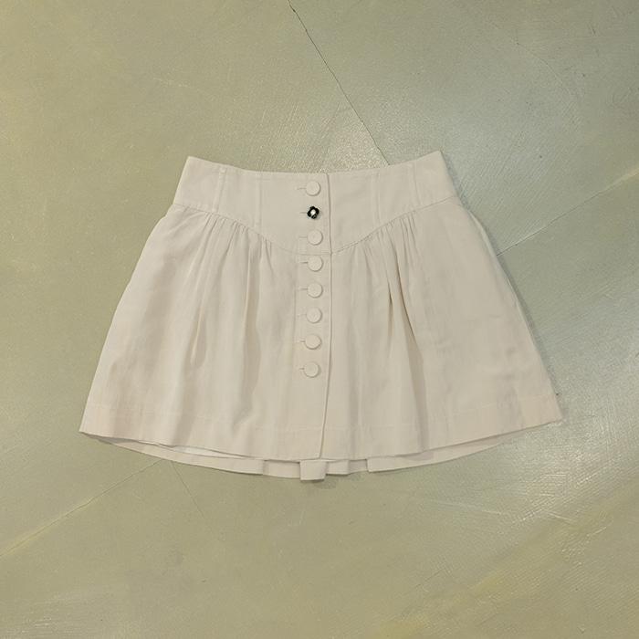 질스튜어트 / Made in japan  Jill stuart silk mix mini skirt