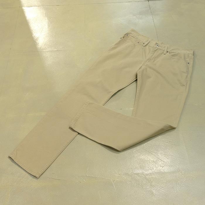 리바이스 화이트탭  Levis 511 cotton pants