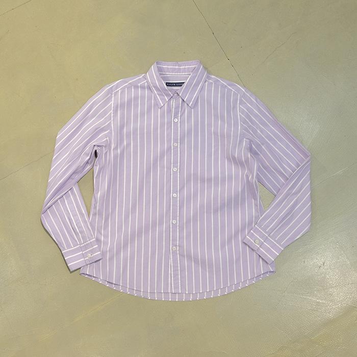 랄프로렌 / Made in japan  Ralphlauren stripe shirt with cuff links
