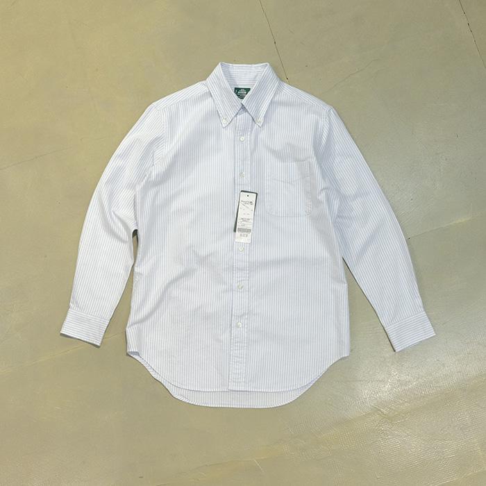 카마무라 셔츠 / Made in japan  Makers shirt by Kamamura b/d collar oxford stripe shirt