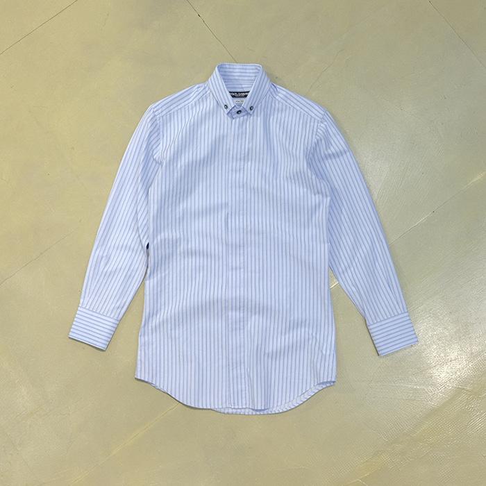 돌체앤가바나 / Made in italy  Dolce&gabbana b/d collar stripe shirt