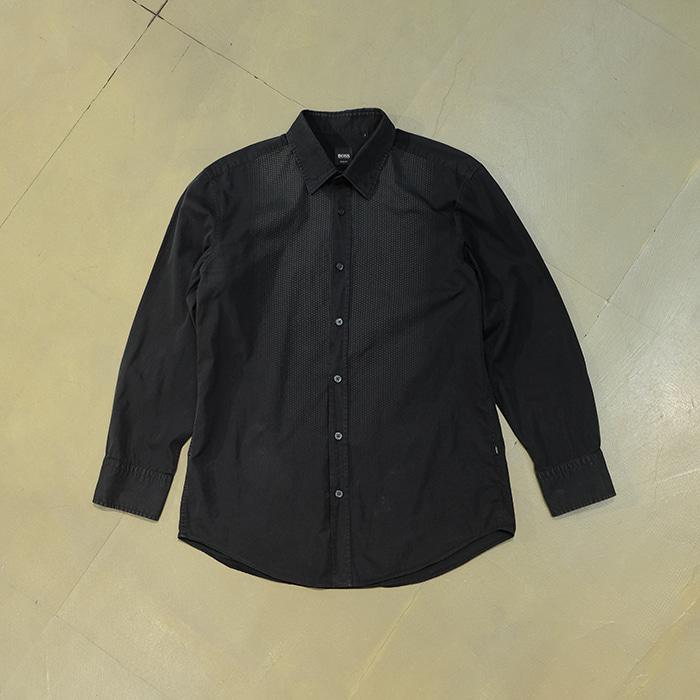 휴고 보스  Hugo boss black shirt