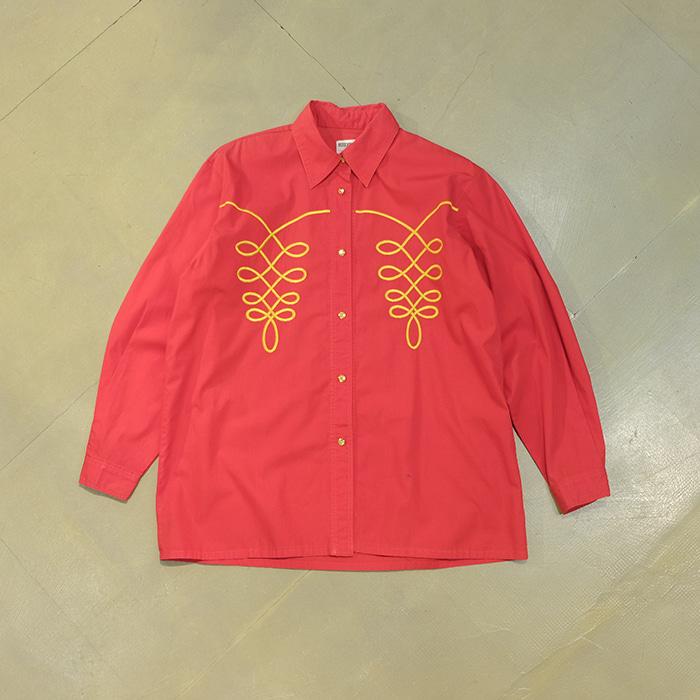 모스키노  Moschino oversize shirt