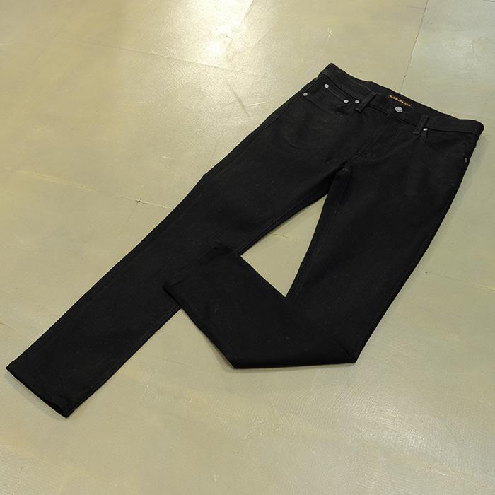 누디진  Nudie jeans Leandean black jeans