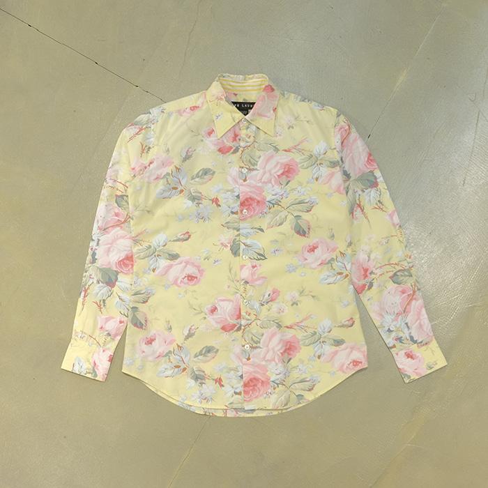 랄프로렌  Ralph lauren flower pattern shirt