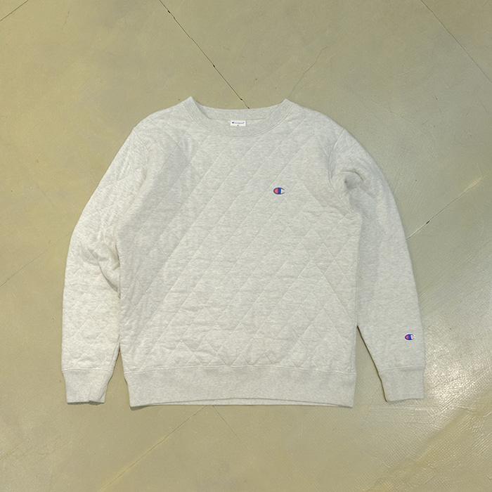 챔피언  Champion quilted sweatshirt