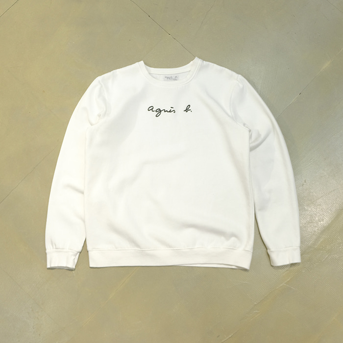 아네스베 / Made in portugal  Agnes b logo sweatshirt
