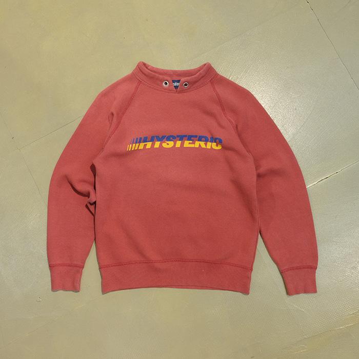 히스테릭 글래머 / Made in japan  Hysteric logo print washed T