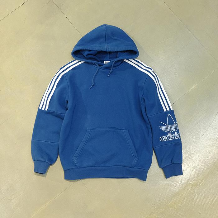 아디다스  Adidas sleeve logo hoodie