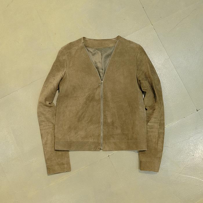 래드래그  Suede zip jacket