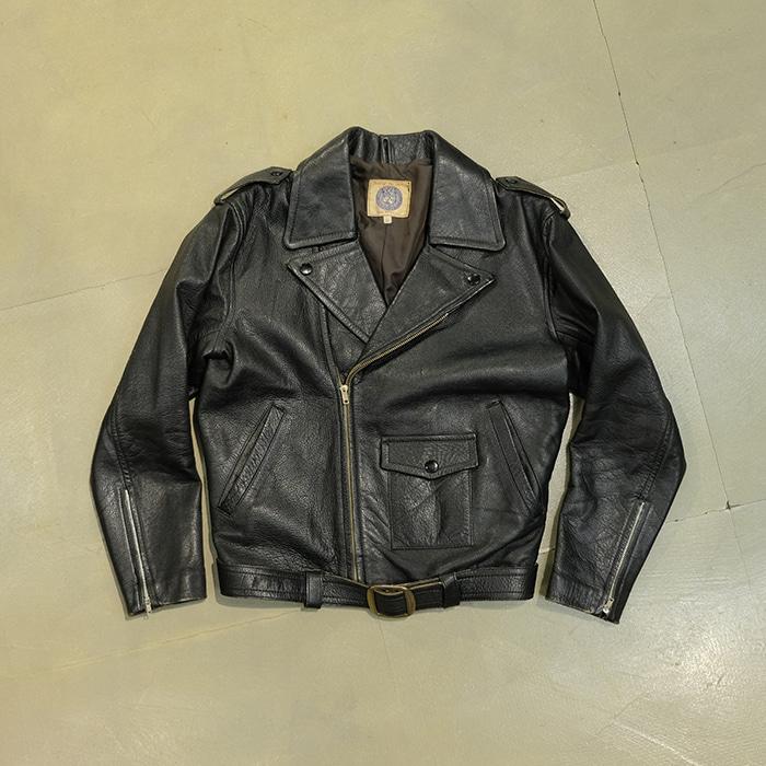 빈티지  Vintage real leather rider jacket