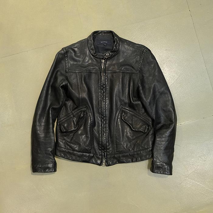 투마로우랜드  Tomorrowland real leather jacket