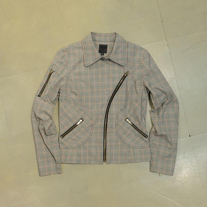 안나수이 / Made in usa  Anna sui check rider jacket