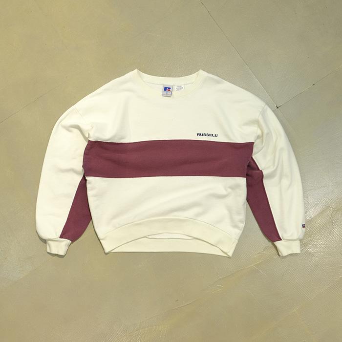 러셀  Russell athletic short sweatshirt