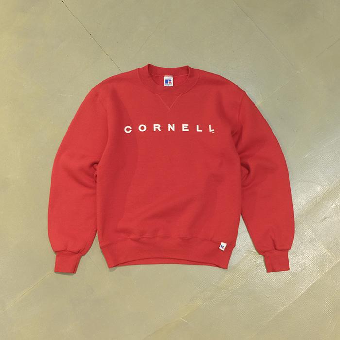 """러셀  Russell athletic """"cornell"""" print sweatshirt"""
