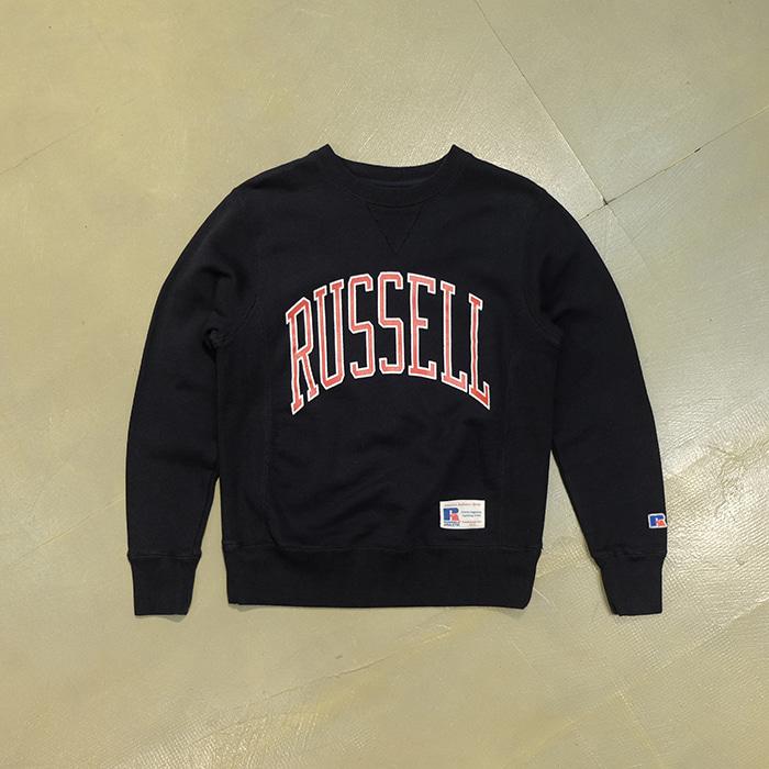 러셀  Russell athletic logo print sweatshirt