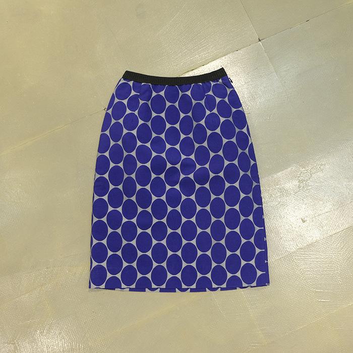 마르니 X 흐앤므 / Made in romania  Marni x h&m big dot banding skirt