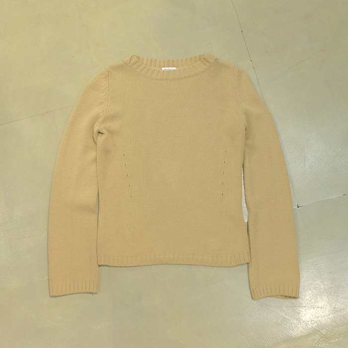 막스앤코 / Made in italy  Max&co wool mix knit sweater