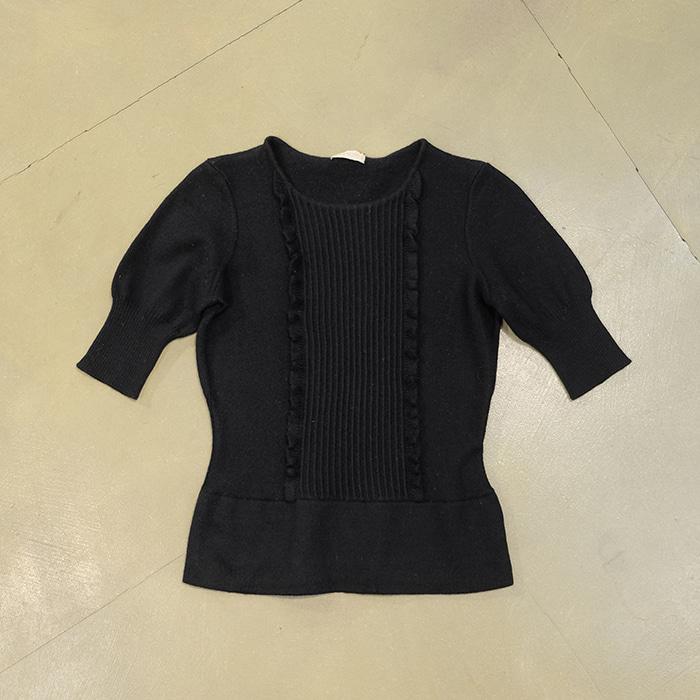 발렌티노 / Made in italy  Valentino slimfit wool knit