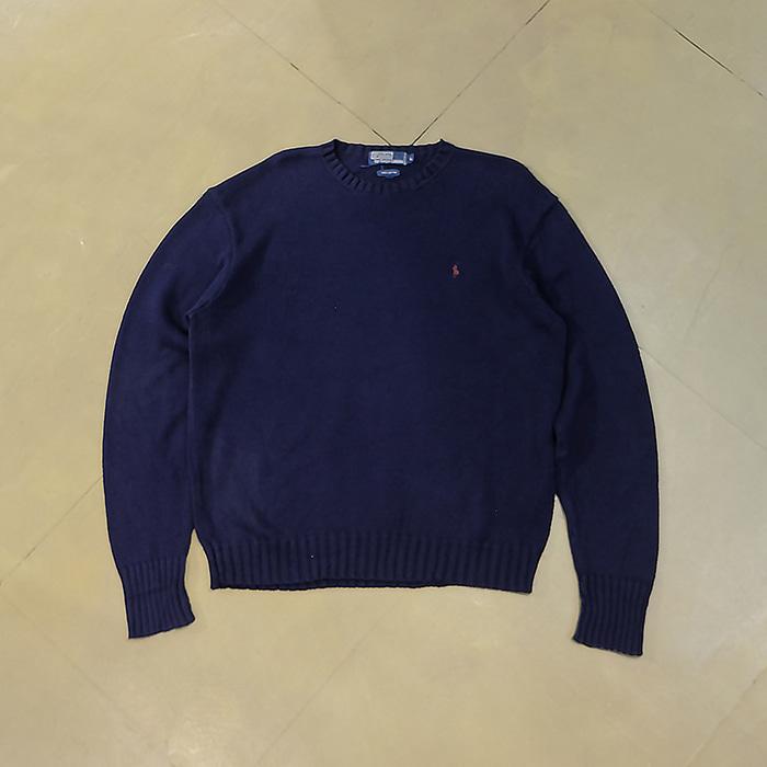 폴로 랄프로렌  Polo ralphlauren cotton knit sweater
