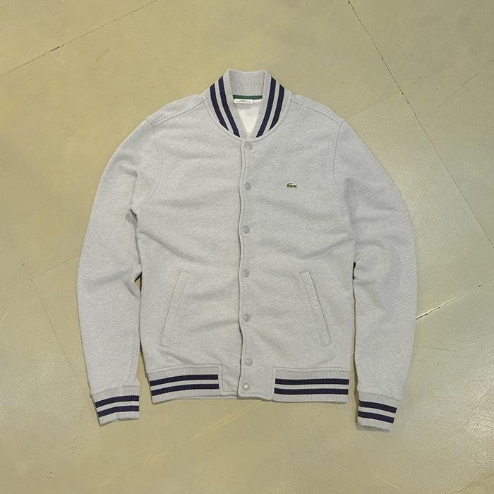 라코스테  Lacoste snap jersey jacket
