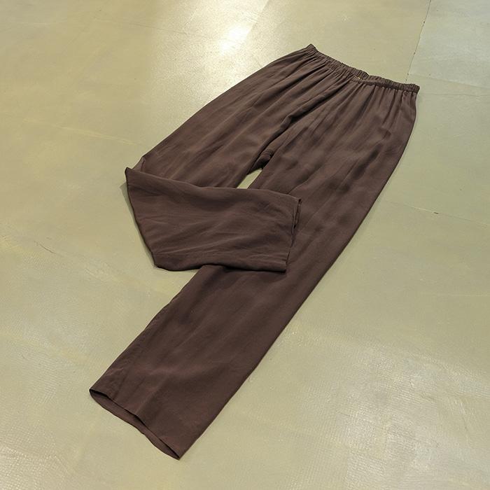상하이 탕  Shanghai tang silk banding pants