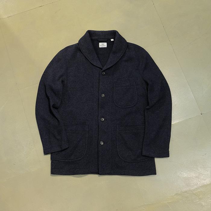 유니클로x엔지니어드가먼츠  Engineered garments x uniqlo fleece shawl collar jacket