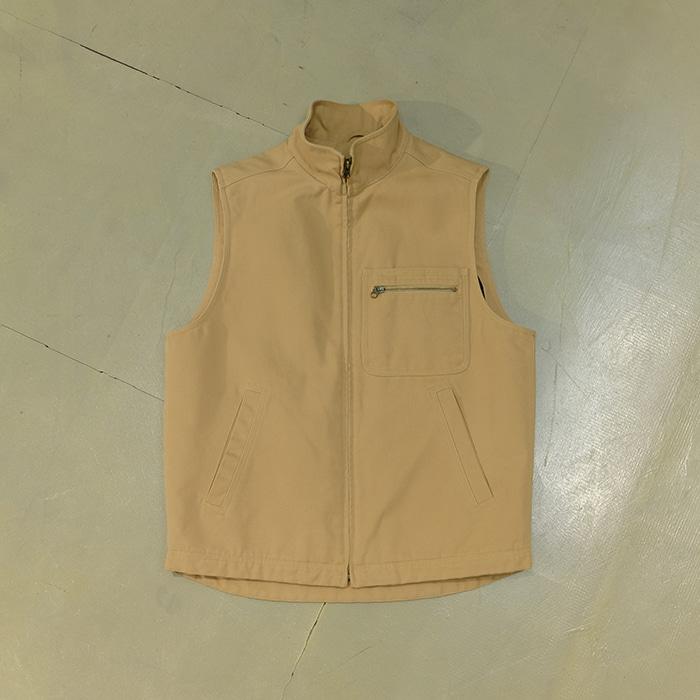 엘엘빈  LL bean wool linned duck cotton vest